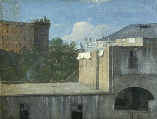 Buildings in Naples with the North-East Side   Thomas Jones   Oil Painting