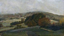Carneddau Mountains from Pencerrig | Thomas Jones | Oil Painting