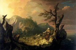 The Bard | Thomas Jones | Oil Painting