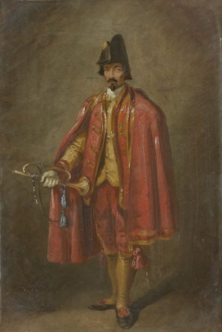 The Trumpeter | Thomas Jones Barker | Oil Painting