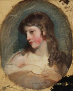 Study of a Girl | Thomas Lawrence | Oil Painting