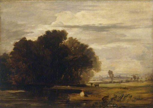 Dedham Ferry | William Collins | Oil Painting