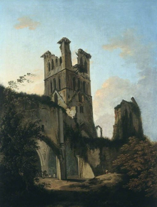 Ruins of Llanthony Abbey | William Hodges | Oil Painting