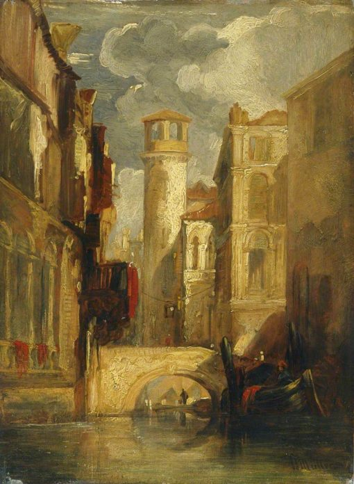 Venetian Scene | William James Muller | Oil Painting
