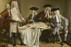 Anatomy Lesson of Dr Willem Röell | Cornelis Troost | Oil Painting