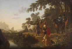 Saint Philip Baptising the Ethiopian Eunoch | Aelbert Cuyp | Oil Painting