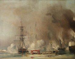 The Departure from Tréport of Queen Victoria