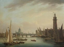 The Thames with St Paul's Cathedral