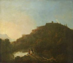 Landscape with a Castle and a Lake | Richard Wilson