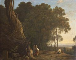 Gypsies at the Entrance to a Wood | Richard Wilson