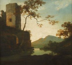 Classical Landscape with a Tower | Richard Wilson