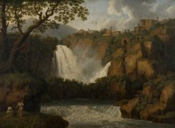 Falls of Tivoli | Jakob Philipp Hackert | Oil Painting