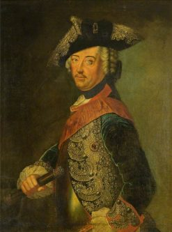 Frederick the Great (1712-1786) | Antoine Pesne | Oil Painting