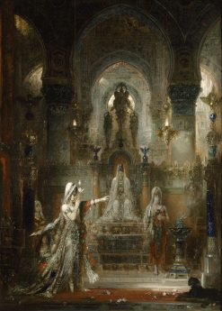 Salome Dancing before Herod | Gustave Moreau | Oil Painting