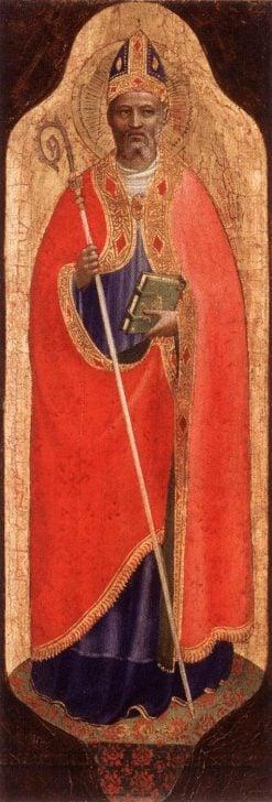 Saint Nicholas of Bari | Fra Angelico | Oil Painting