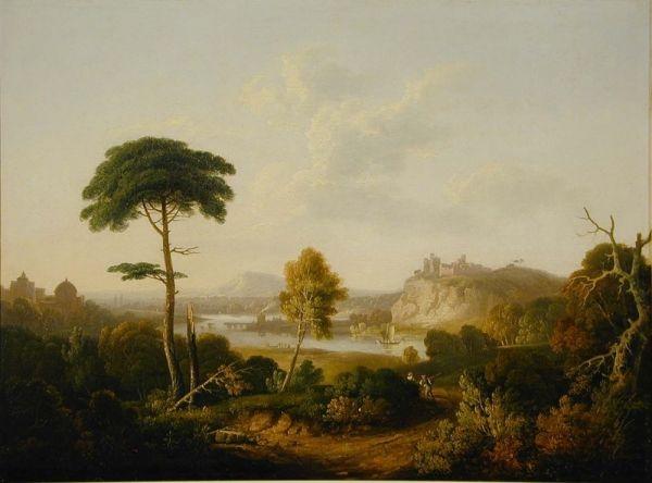 Italian Landscape Painting Thomas Jones Oil Paintings
