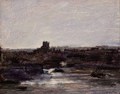 Dieppe   Antoine Vollon   Oil Painting