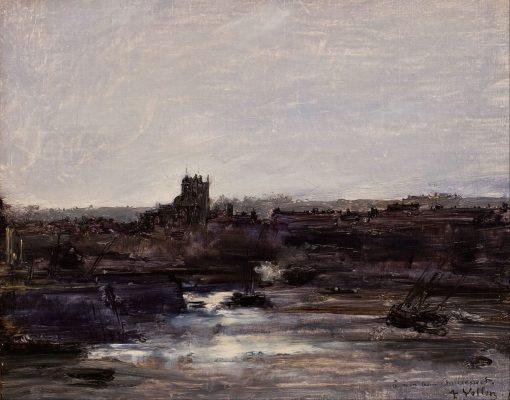 Dieppe | Antoine Vollon | Oil Painting