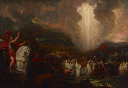 Joshua Passing the River Jordan with the Ark of the Covenant | Benjamin West | Oil Painting