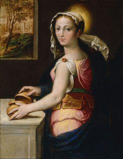 Mary Magdalene   Bernardino Campi   Oil Painting