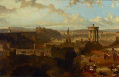 Edinburgh from the Calton Hill | David Roberts | Oil Painting