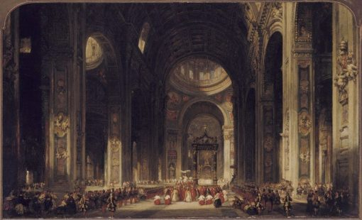 Interior of Saint Peters