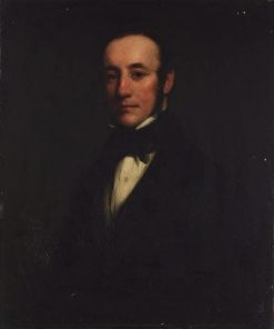 Self-portrait (in his 20s?) | Henry William Pickersgill | Oil Painting