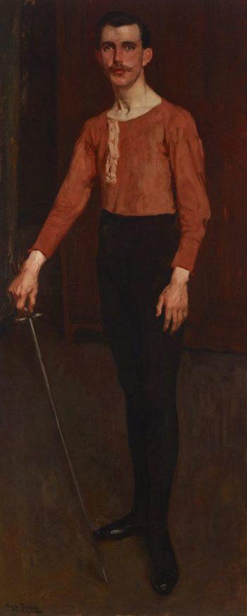 The Foil   Hugh Ramsay   Oil Painting