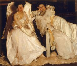 The Sisters(also known as Two Girls in White) | Hugh Ramsay | Oil Painting