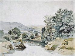 River Scene   James Stark   Oil Painting