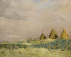The Three Stacks | Jean Charles Cazin | Oil Painting