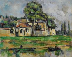 Banks of the Marne | Paul CEzanne | Oil Painting