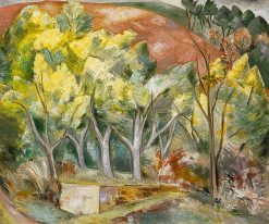 Mimosa Wood | Paul Nash | Oil Painting