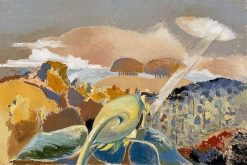 Sunflower and Sun | Paul Nash | Oil Painting
