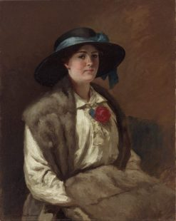 Portrait of Miss Hilary Mackinnon (later Mrs. J.S. Reid) | Rupert Bunny | Oil Painting