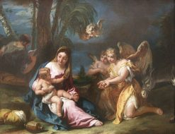 Madonna and Child with Angels | Sebastiano Ricci | Oil Painting