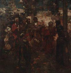 The Scoffers | Sir Frank William Brangwyn | Oil Painting