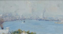 Sydney Harbour from Milson's Point | Tom Roberts | Oil Painting