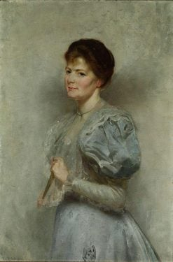 Mrs Lucy Scot Skirving | Tom Roberts | Oil Painting