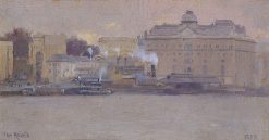 Circular Quay | Tom Roberts | Oil Painting