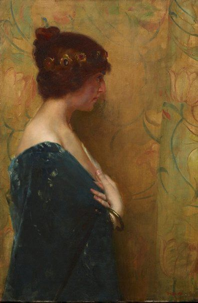 A study of Jephthah's Daughter | Tom Roberts | Oil Painting
