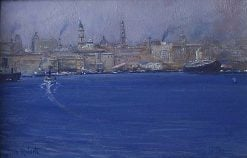 Circular Quay   Tom Roberts   Oil Painting