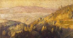 In the Shadow of the Hills | Tom Roberts | Oil Painting