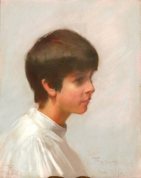 Louise Pinschof | Tom Roberts | Oil Painting