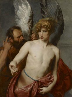 Daedalus and Icarus | Anthony van Dyck | Oil Painting