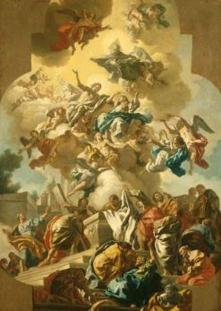 The Assumption of the Virgin | Francesco de Mura | Oil Painting