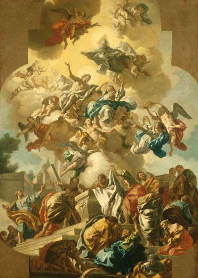 The Assumption of the Virgin | Francesco de Mura | Oil Painting