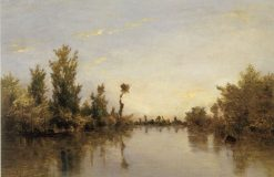 Banks of the Seine | Charles Francois Daubigny | Oil Painting