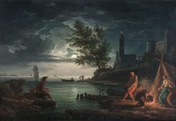 Night | Claude Joseph Vernet | Oil Painting