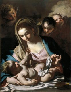Madonna and Child | Francesco Solimena | Oil Painting